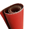 0.8mm Chemical Corrosion Resistant Red Silicone Coated Fiberglass Cloth Fabric
